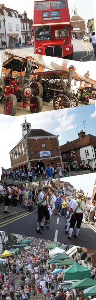 heritage day images in amersham old town