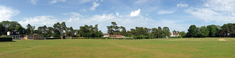 Hervines Park panorame, Amersham