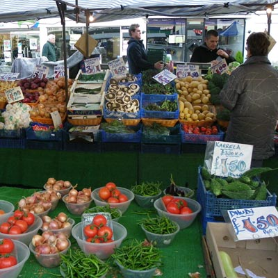 market in Amersham