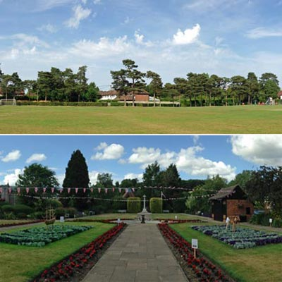 open spaces managed by amersham town council