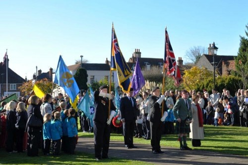 remembrance day service amersham