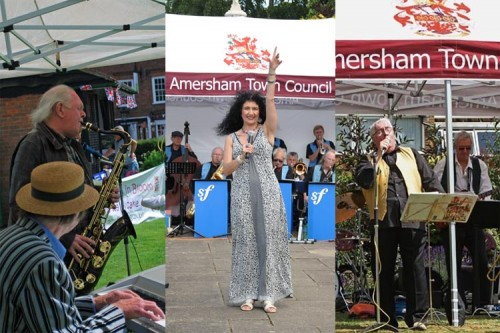 band concert montage amersham town council