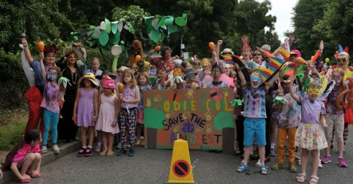 Woodside School Carnival Procession