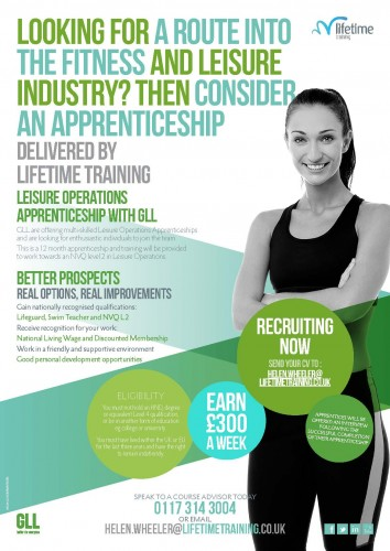 LMD-351 GLL Recruitment Poster Green