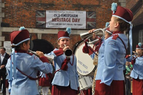 Band music Amersham Heritage Day 2015