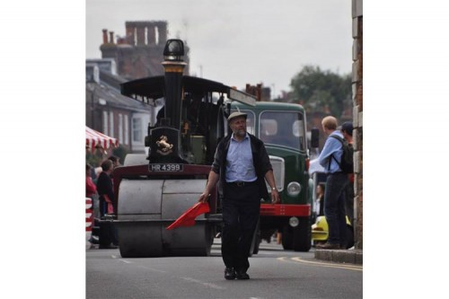 steam roller amersham heritage day 2015