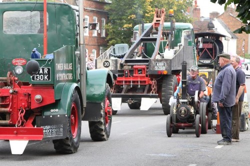 vintage trucks amersham heritage day 2015