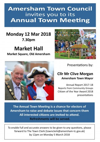 Town Meeting 2018 Poster